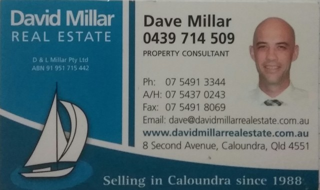 Dave Millar Property Consultant
